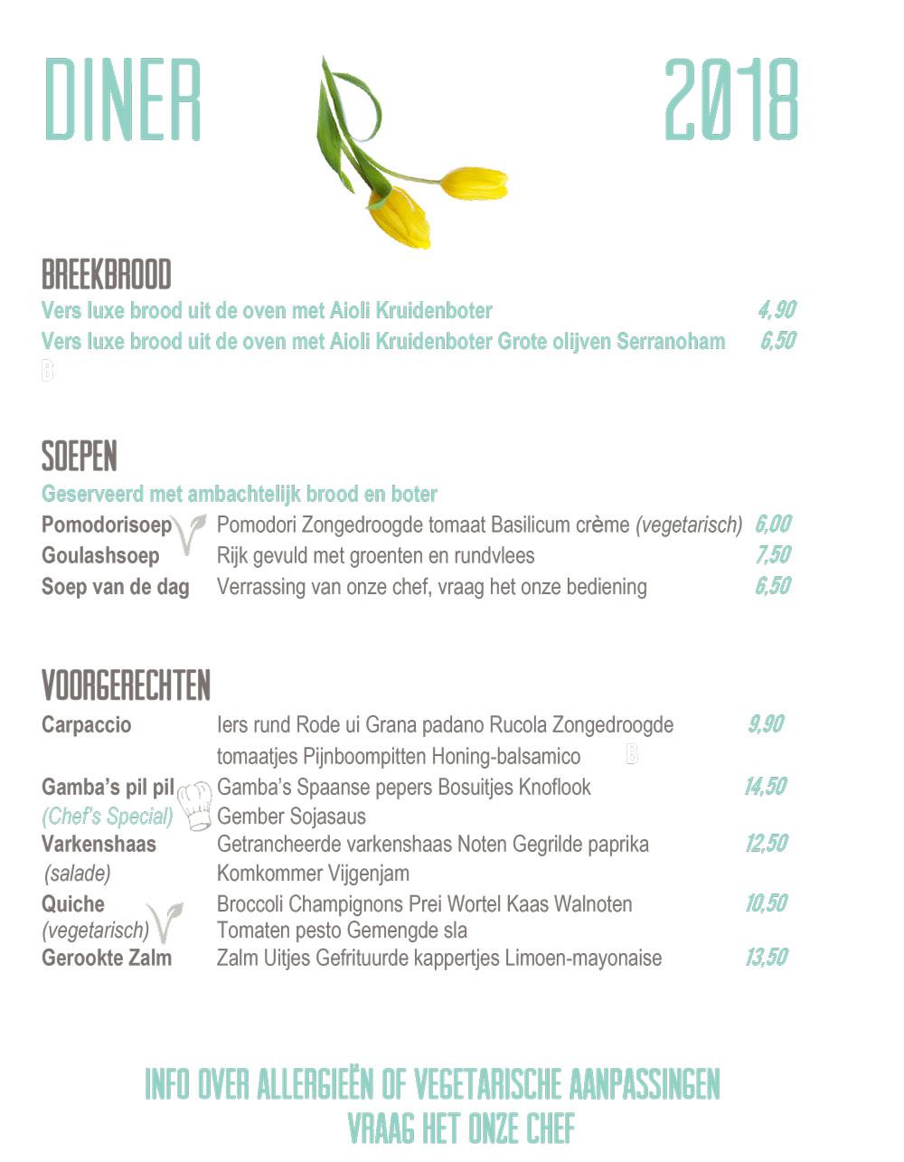 Diner NL 2018