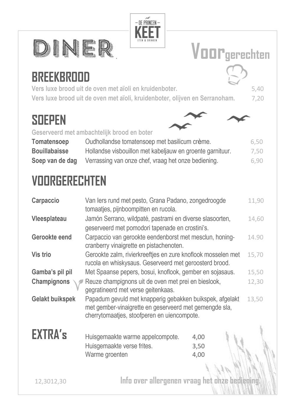 Diner NL 2019